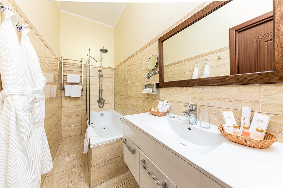 Туалетная комната номера Сюит отеля Довиль