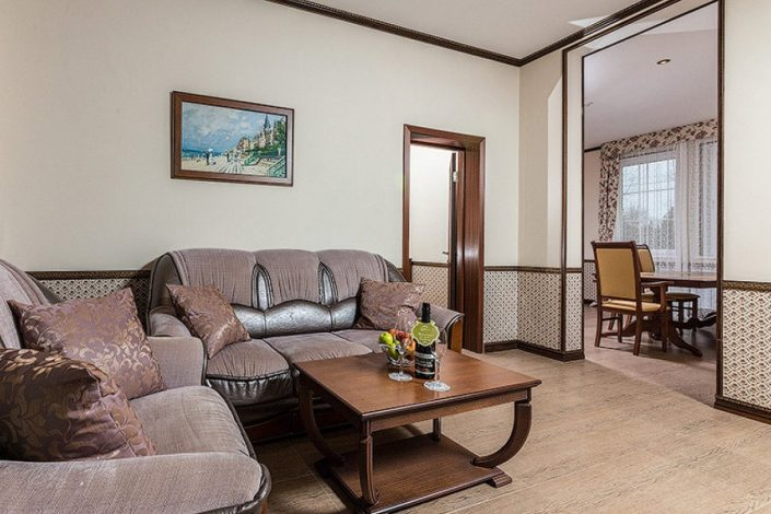 Апартамент Супериор и Эксклюзив отеля Довиль