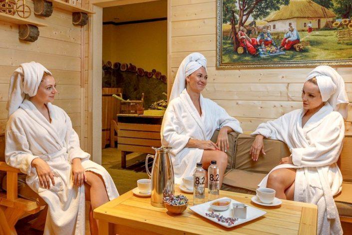 Термальная зона спа-комплкса отеля Довиль