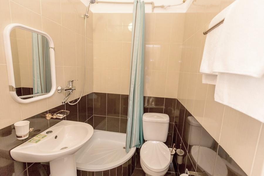 Туалетная комната номера Студия Шаляпин