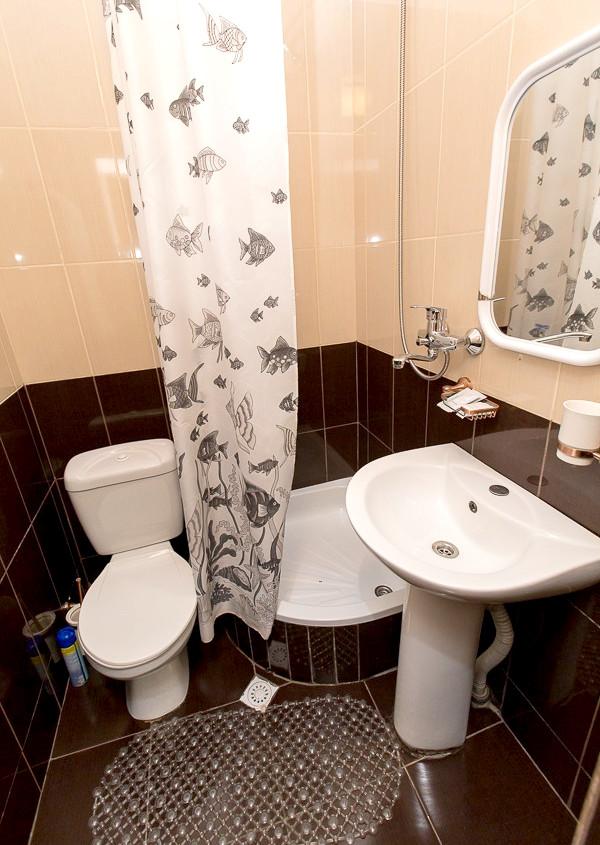 Туалетная комната номера Спальня художника дома отдыха Федор Шаляпин