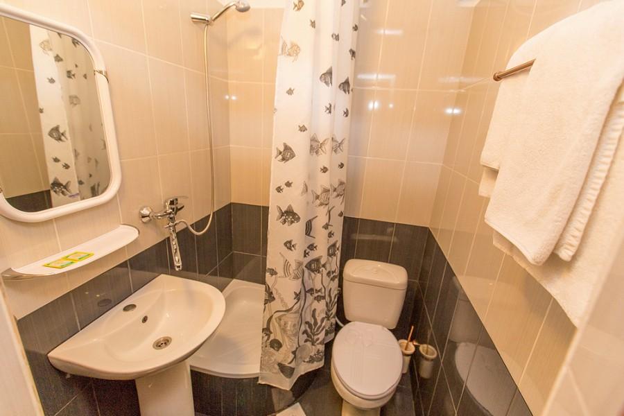 Туалетная комната номера Студия художника дома отдыха Федор Шаляпин