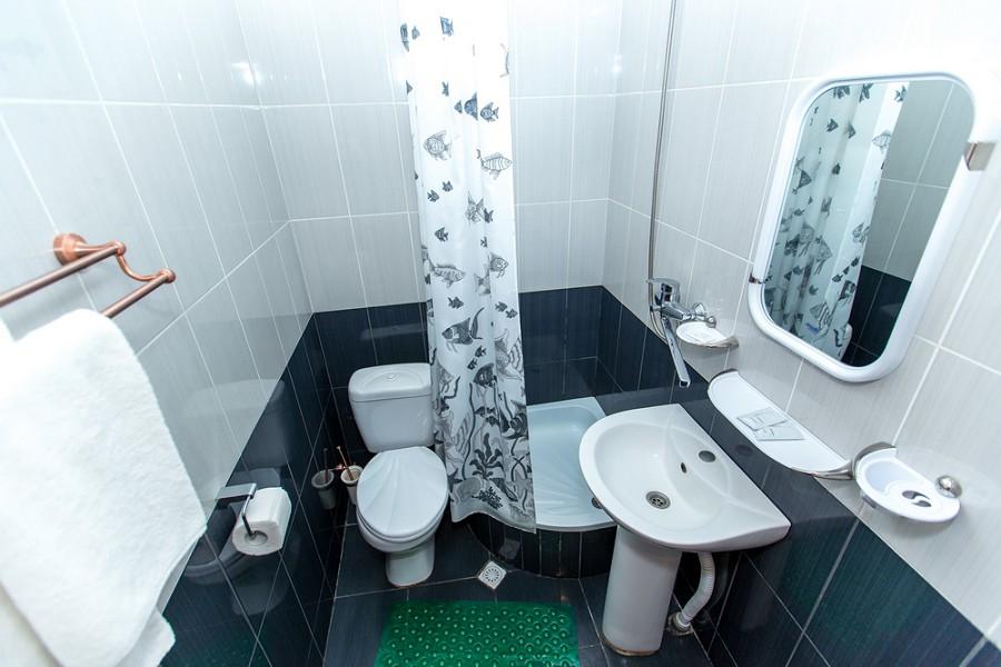 Туалетная комната номера Кабинет художника дома отдыха Федор Шаляпин