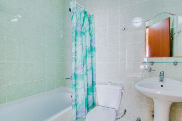 Туалетная комната Стандартного номера пансионата Фея-2