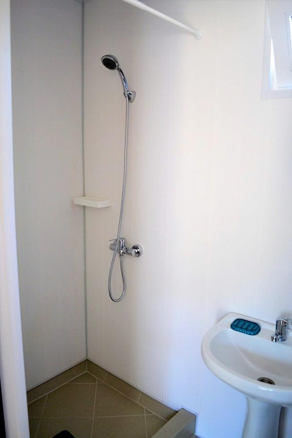 Туалетная комната в коттедже мини-отеля Forest Club