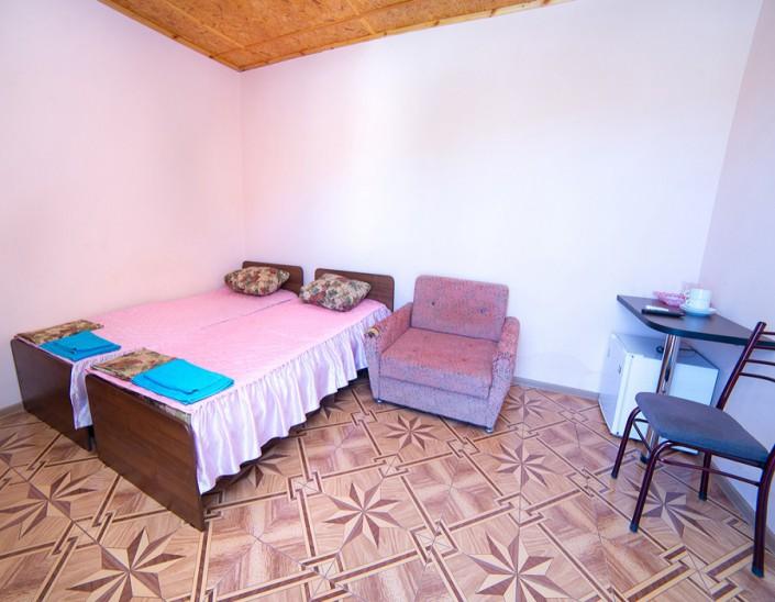 Стандартный номер гостевого дома Фортуна
