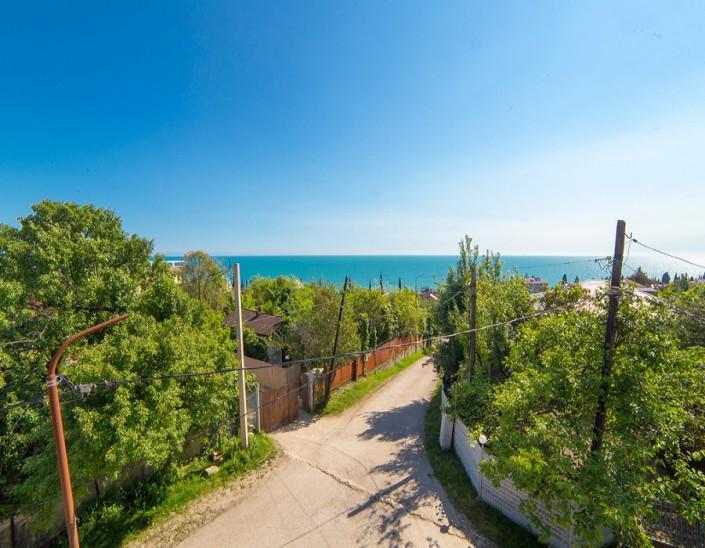 Вид на море из гостевого дома Фортуна