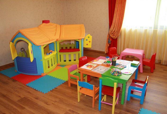 Детская игровая комната пансионата Фрегат