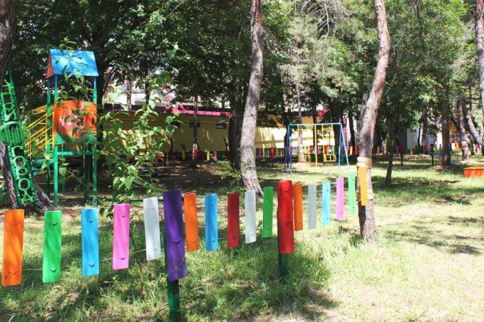 Детская игровая площадка пансионата Фрегат