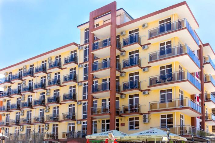 Отель Gala Palmira, Витязево, Анапа