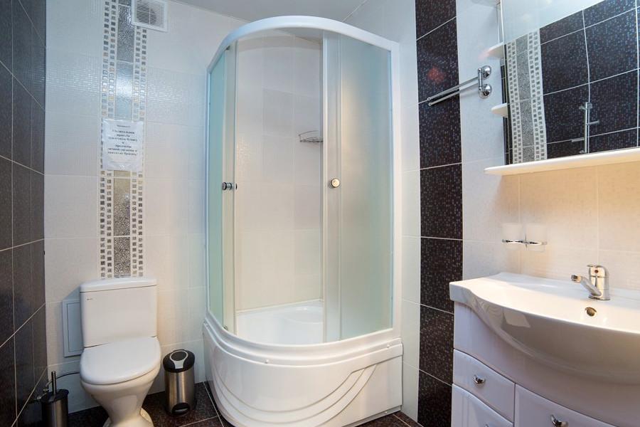 Туалетная комната номера Сюит в отеле Gala Palmira