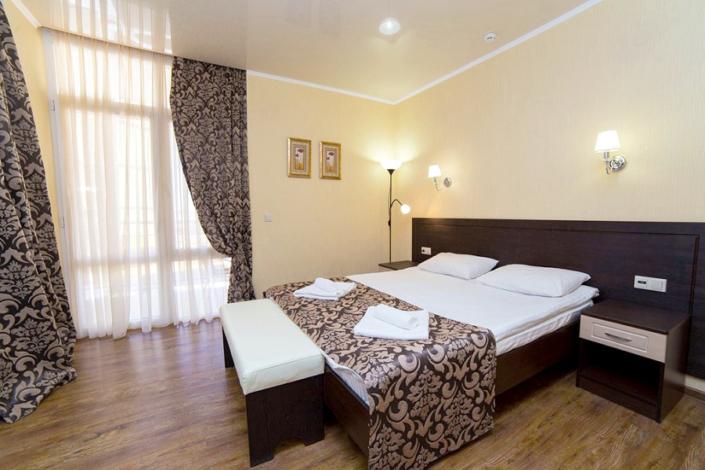 Люкс двухместный двухкомнатный отеля Gala Palmira