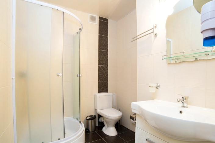 Туалетная комната номера Люкс двухкомнатный в отеле Gala Palmira