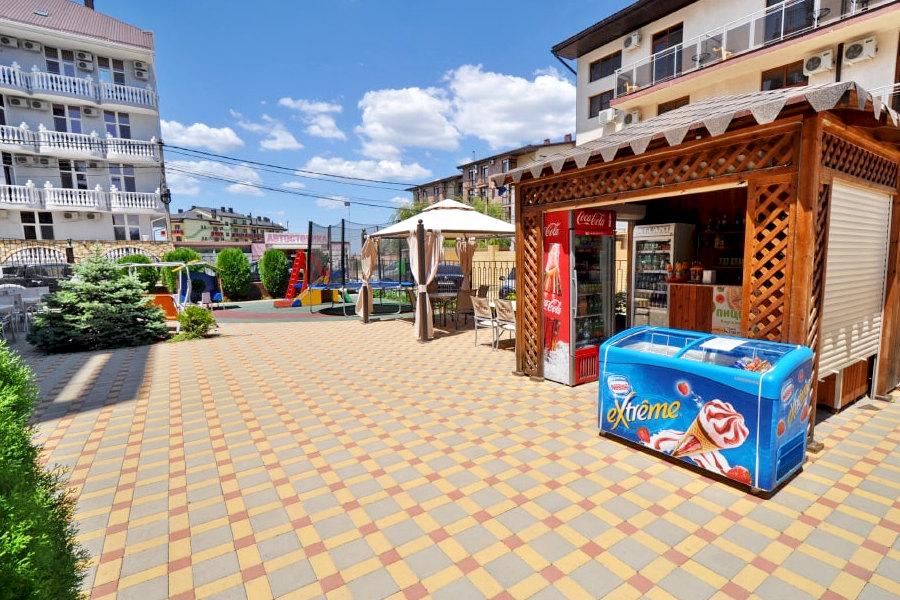 Кафе отеля Gala Palmira