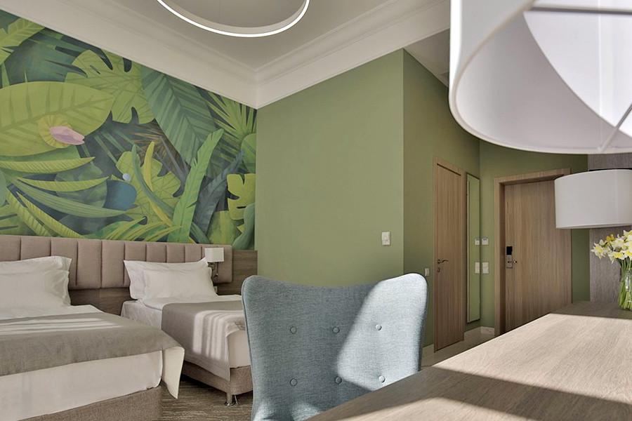 Комфорт двухместный отеля Garden Resort Gagra, Абхазия