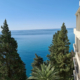 Вид с балкона одного из номеров отеля Garden Resort Gagra, Абхазия