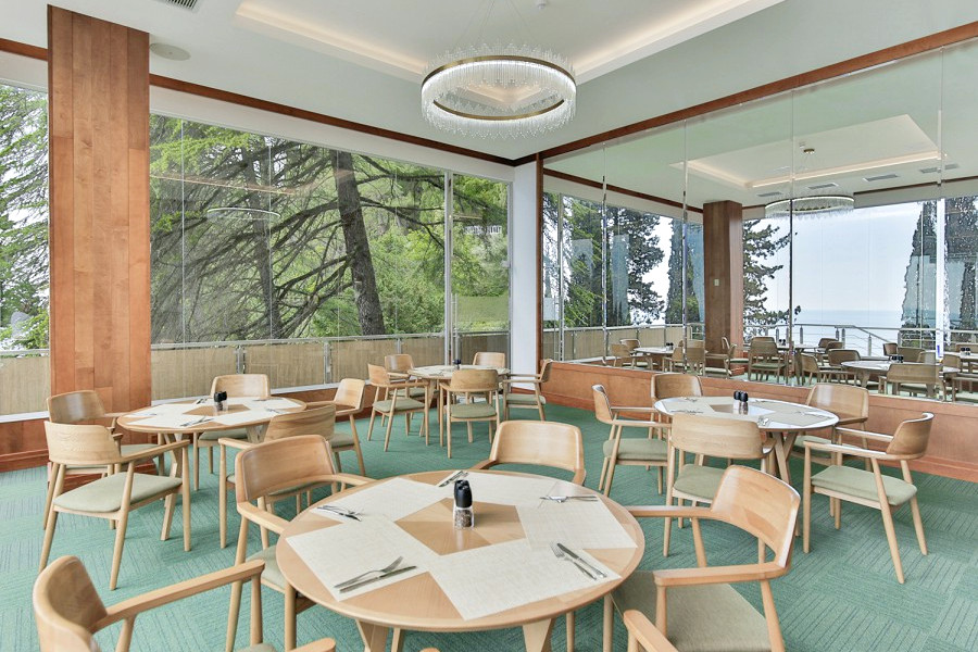 Ресторан Панорама отеля Garden Resort Gagra