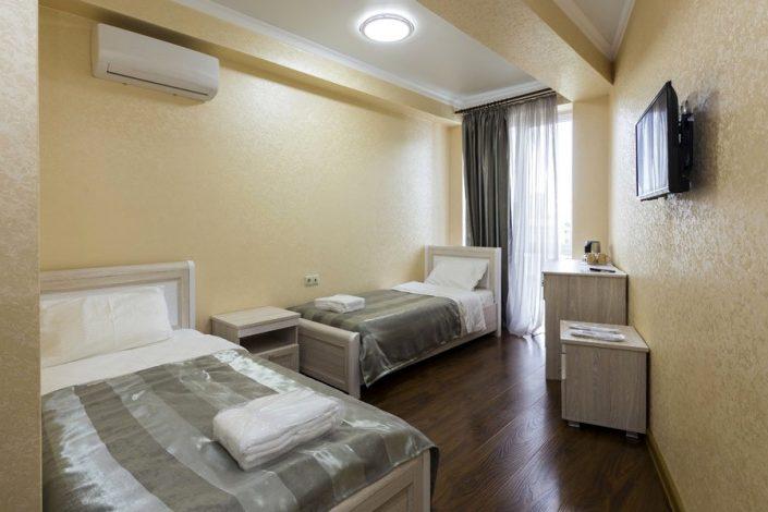 Стандарт с раздельными кроватями в отеле Гега, Гагра, Абхазия