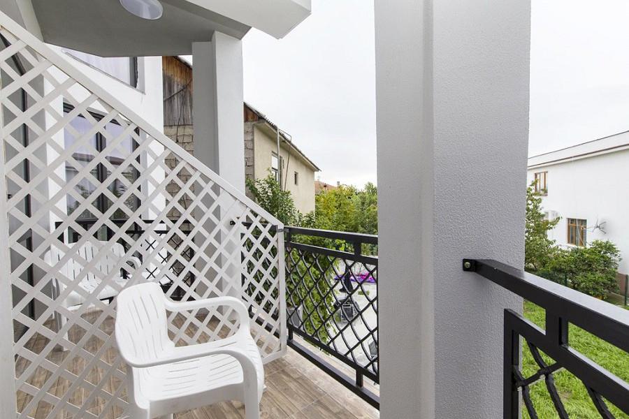 Балкон Стандартного номера в отеле Гега, Гагра, Абхазия
