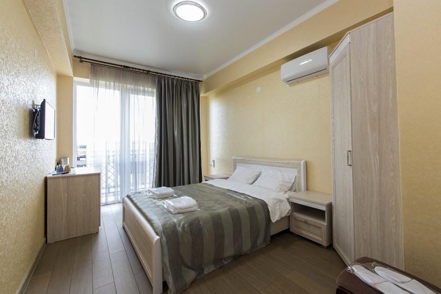 Стандарт с балконом и доп. местом в отеле Гега, Гагра, Абхазия
