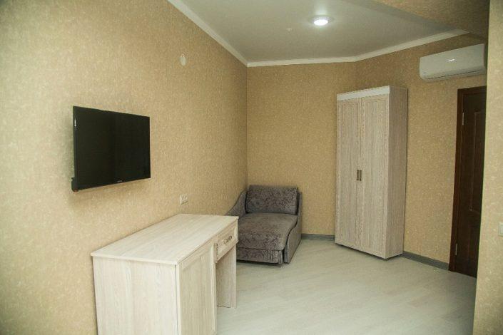 Номер Комфорт с доп. местом в отеле Гега, Гагра, Абхазия