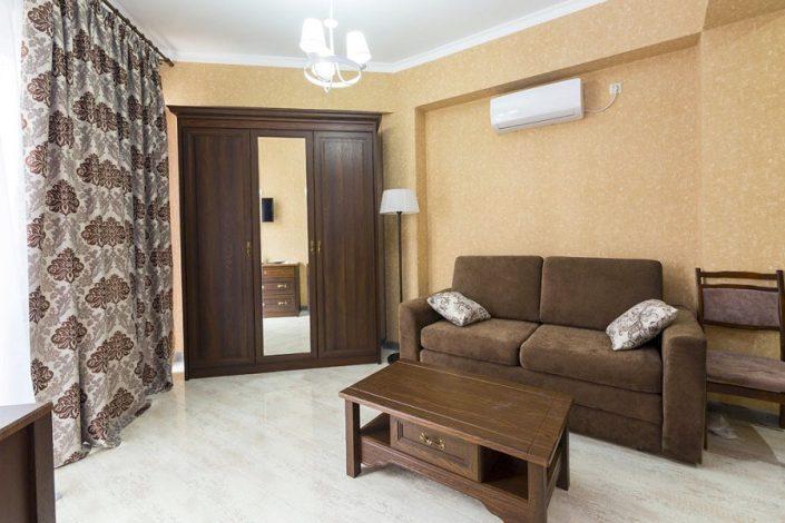 Люкс двухкомнатный в отеле Гега, Гагра, Абхазия