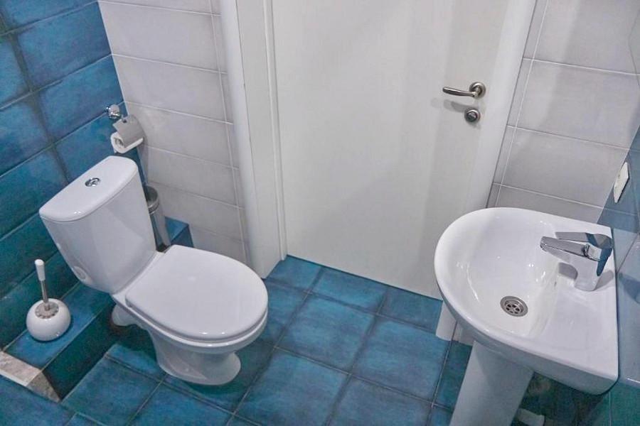 Туалетная комната Стандартного номера мини-гостиницы Гнездо белой совы
