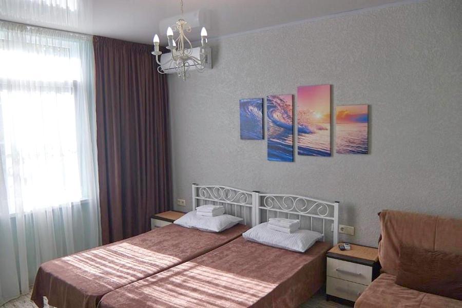 Стандарт трехместный мини-гостиницы Гнездо белой совы