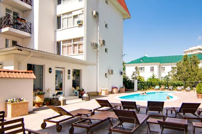 Отель Голубая лагуна, Анапа