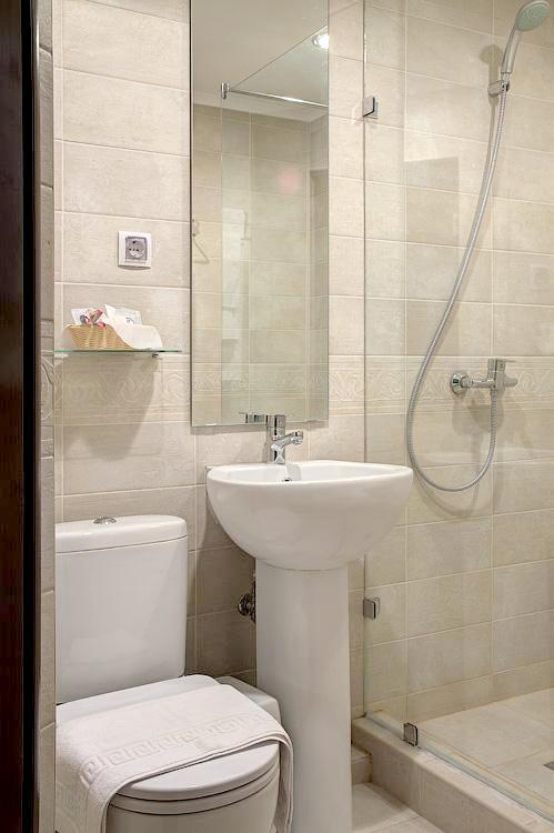 Туалетная комната номера Стандарт Плюс отеля Голубая лагуна