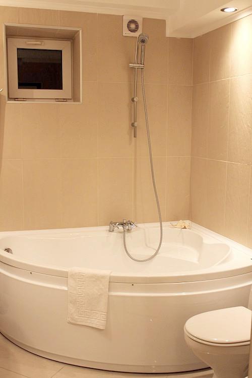Туалетная комната номера Студия отеля Голубая лагуна