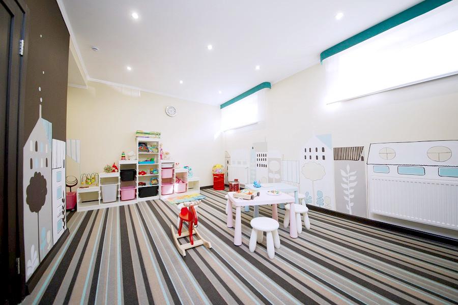 Детская комната отеля Голубая лагуна