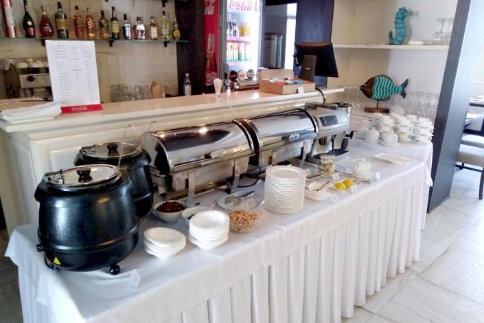 Ресторан Розмарин отеля Голубая лагуна