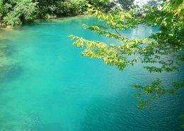 Голубое озеро, Абхазия