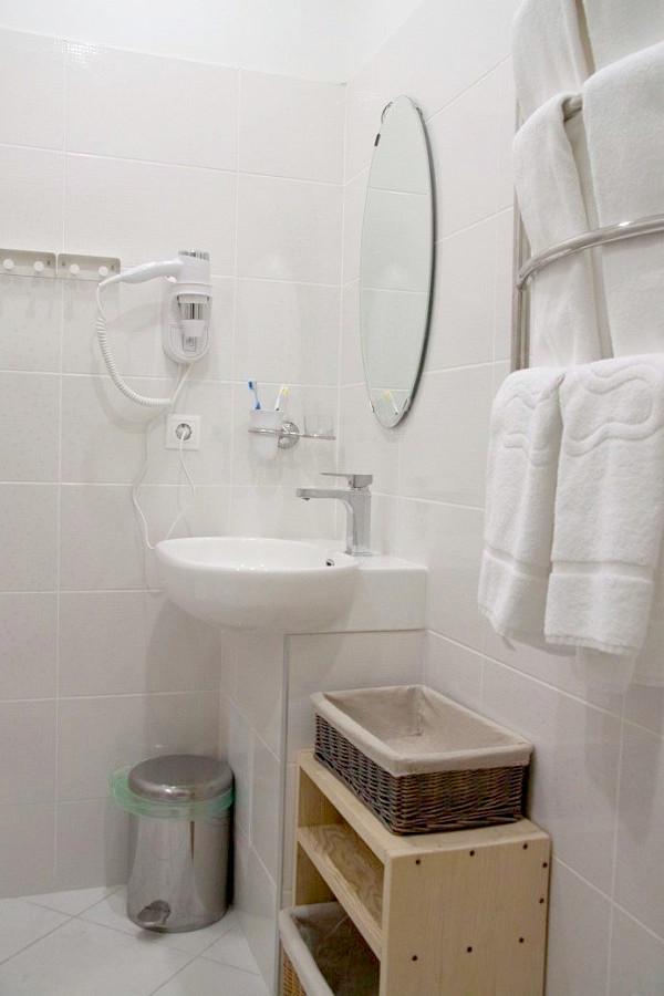 Туалетная комната Стандартного номера отеля Гора царя Баграта