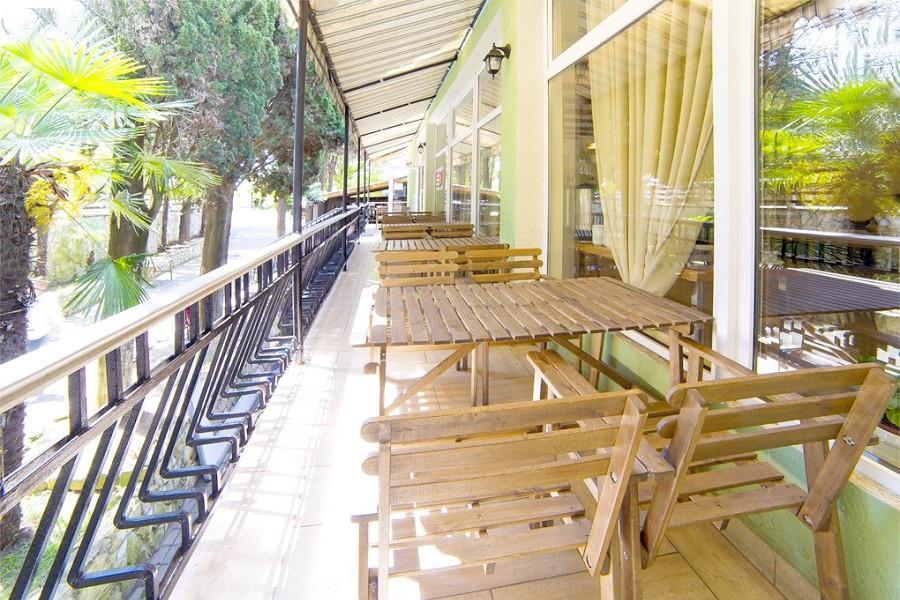 Столовая отеля Гора царя Баграта