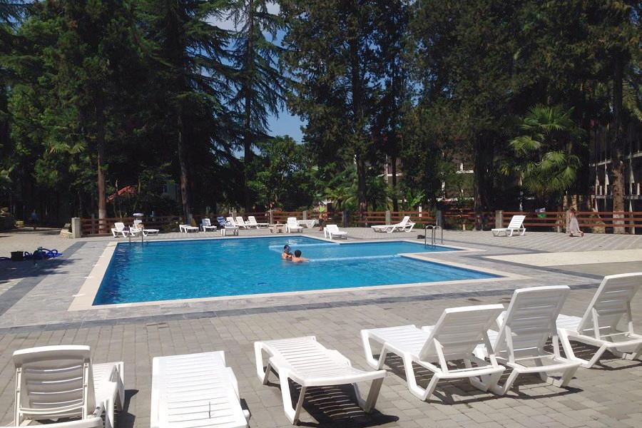 Бассейн отеля Гора царя Баграта