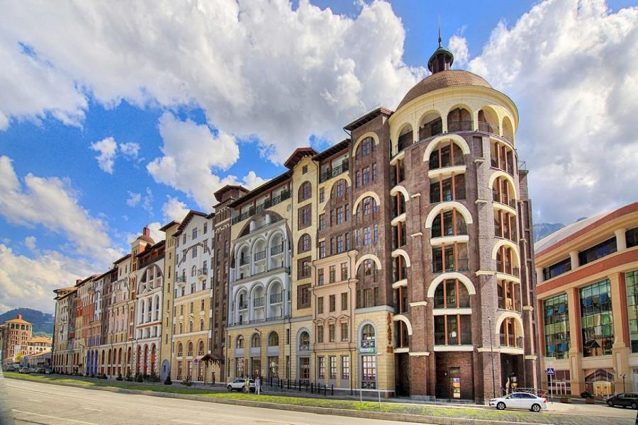 Апартаменты Горки Город (540 м), Красная Поляна, Сочи