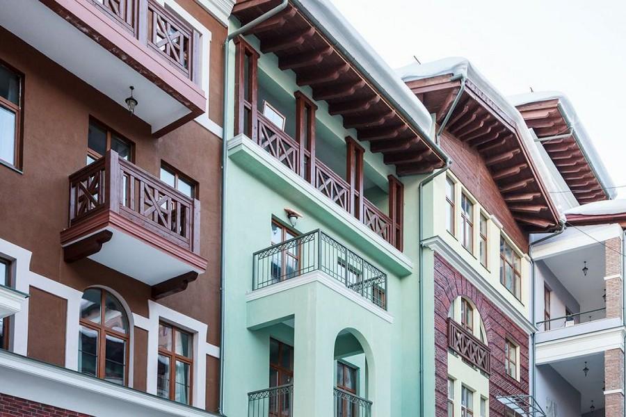 Апартаменты Горки Город (960 м), Красная Поляна, Сочи