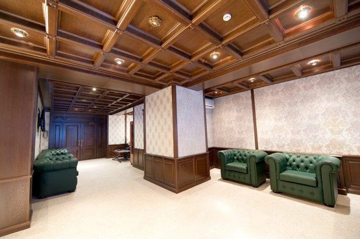 Холл апарт-отеля Горная Резиденция, Красная Поляна, Сочи