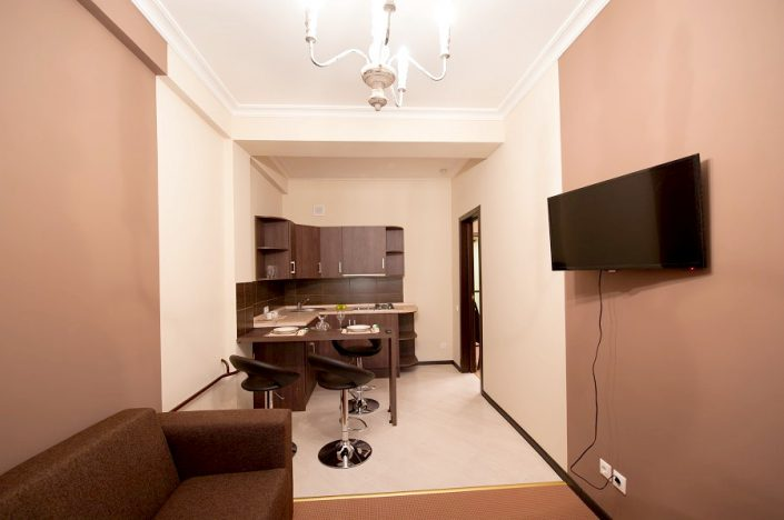 Кухя Апартаментов отеля Горная Резиденция, Красная Поляна, Сочи
