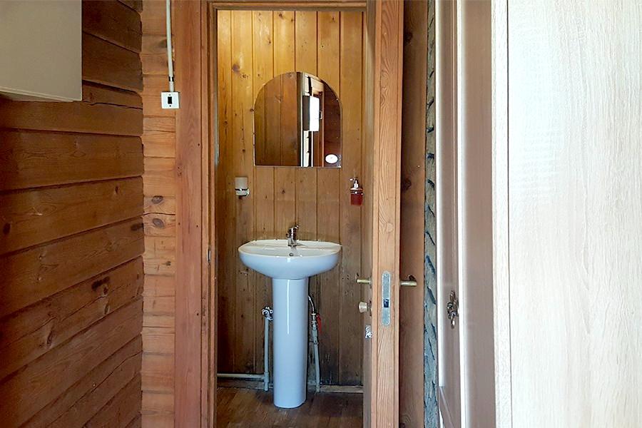Туалетная комната в коттедже пансионата Госдача Лдзаа