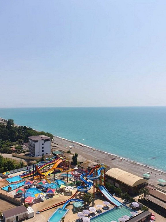 Вид на море из номера гранд-отеля Абхазия