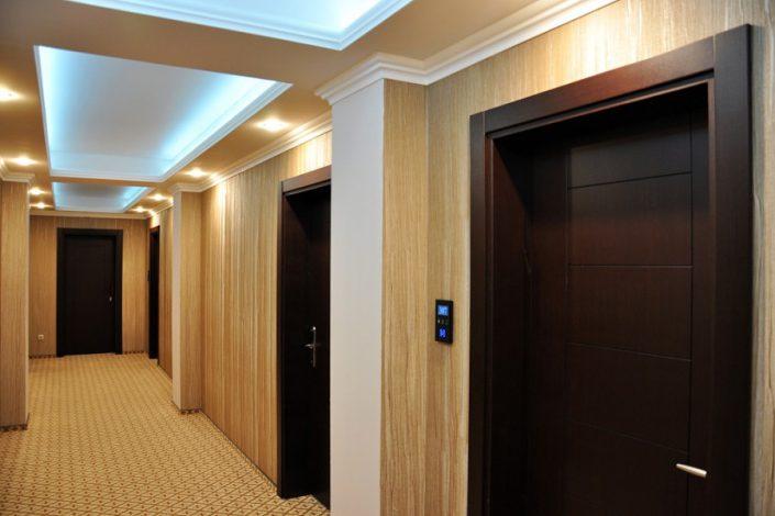 Коридор третьего этажа Grand Hotel Gagra