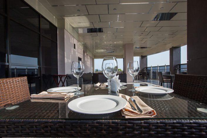 Ресторан на террасе Grand Hotel Gagra