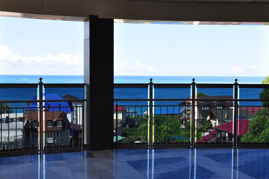 Терраса с видом на море Grand Hotel Gagra