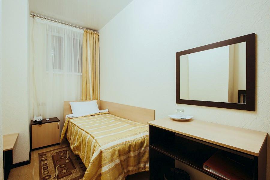 Стандартный одноместный номер отеля Гранд Прибой