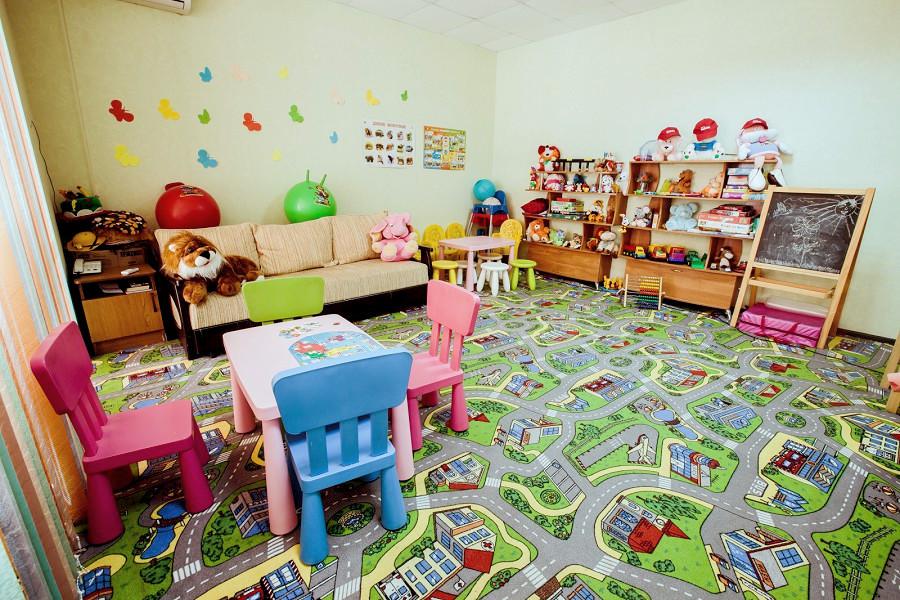 Детская комната отеля Гранд Прибой