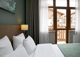 Superior с балконом и видом на Олимпийскую деревню Green Flow Hotel