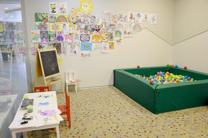 Детская комната Green Flow Hotel